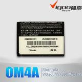 Batterij de van uitstekende kwaliteit van de Telefoon van de Cel van de Vervanging Om4a voor Motorola