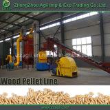 Usine en bois de machine de presse de boulette de sciure de biomasse mobile durable à vendre