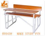 Mobiliário de sala de aula modernas assentos duplos para o Colégio e High School