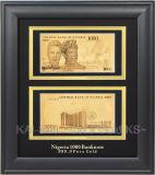 Los Billetes de Oro (una cara) - Jordania 50 (JKD-1FMB-15)