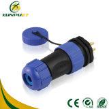 varón 5-15A al adaptador eléctrico del alambre femenino del bloque de terminales