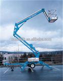 Hydraulischer gegliederter teleskopischer Hochkonjunktur-Aufzug mit CER