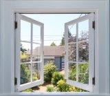 Het witte Vaste Openslaand raam van pvc van de Kleur,/Outswing het Venster van pvc voor het Huis van de Container, het Witte Venster van pvc van de Kleur voor Vervaardigd Huis
