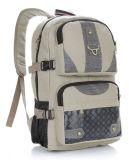 Zaino speciale del sacchetto del computer portatile di disegno con il materiale della tela di canapa
