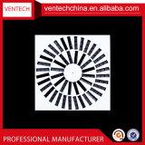 Difusor quadrado de alumínio do redemoinho da ventilação do condicionamento de ar