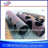 Het Staal van betere kwaliteit om CNC Oxy van de Pijp Machine van de Boring van het Gat van het Plasma de Scherpe