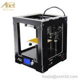 2017 caldo! ! ! Anet A3 in pieno ha montato la stampante da tavolino di Reprap Prusa I3 3D di precisione della stampante 3D con la deviazione standard Card+Tool di 1roll Filaments+16g
