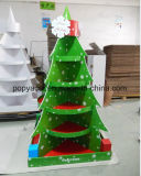 Fornitore della visualizzazione del cartone della Cina, visualizzazione del cartone dell'albero di Natale, banco di mostra dei regali, Fsdu