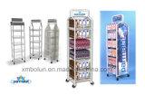 Présentoir en métal de lait de commerce de détail