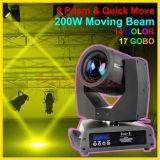 200W Moving Beam Sharpy Light met 5r of 7r Lamp
