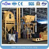 Горячая продажа 1-1.5т/ч 90квт установка для гранулирования древесины с маркировкой CE