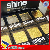 el brillo comestible verdadero del papel de balanceo del oro 24K empapela el papel de cigarrillo