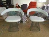 装飾された固体ステンレス鋼ワイヤー椅子