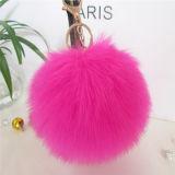 方法最上質の本物のキツネの毛皮の球/キツネの毛皮のポンポン