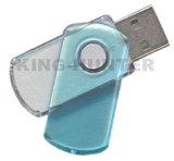 선전용 품목 강선전도 플래시 메모리 USB 플라스틱 회전대 USB 드라이브