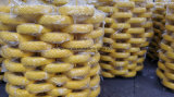 Fußrollen-Reifen PU-Schaumgummi-Rad-Gummireifen für Garten-Hilfsmittel-Karre
