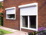 Exterior House Aluminum Knell Windows with Roller Shutters