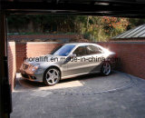 Plataforma giratória do carro de Revoling para o estacionamento e o indicador