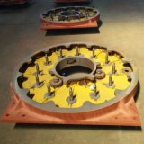 Alta velocidad de la máquina alambre de acero inoxidable trenzado de la manguera de goma