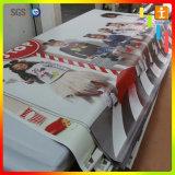 Drapeau de vinyle de PVC utilisé par contexte fait sur commande de la publicité extérieure