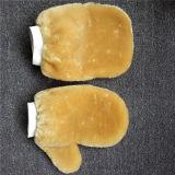 Aantrekkelijke en Duurzame Mitt van de Was van de Wol Schoonmakende Handschoen