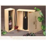 Caja de vino de Madera, embalaje del vino, vino la pantalla (WA-014)