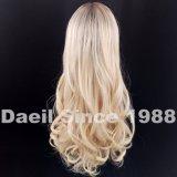 La mujer peluca pelo súper largo