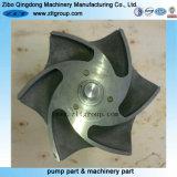 ステンレス鋼の/Titaniumの投資鋳造のDurcoポンプインペラー