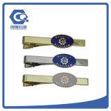 Grampo de laço da alta qualidade com logotipo engraçado feito sob encomenda dos grampos de laço