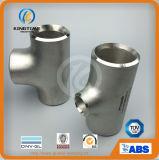 Acero inoxidable Wp304 / 304L instalación de tuberías Euqal tee con ISO9001: 2008 (KT0327)