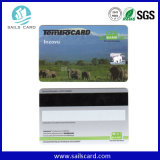 Cr80標準サイズの印刷されたシリアル番号のMagstripeのカード