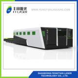 2000W заключило полным гравировальный станок обменянный предохранением платформы волокна лазера вырезывания 6020