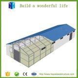 Le coût bas a préfabriqué l'entrepôt de structure de bâti en acier de modèle de construction