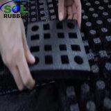 Patio exterior de la seguridad suelos de baldosas de caucho