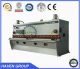 강철 플레이트 그네 광속 깎는 기계, 유압 가위 QC12K-10 x 3200