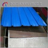 PPGIのカラーによって塗られる電流を通された波形の屋根ふきシート