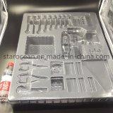 Het duidelijke Gerecycleerde het hardware-Gebruik van pvc Plastic Dienblad van de Blaar