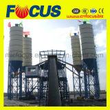 controlo PLC fábrica de criação de lote de Concreto, Hzs120 Planta de Mistura de betão