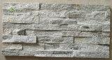 Hermosa brillando Grayish-Green Cultura Mica piedra para la Decoración de pared/revestimiento