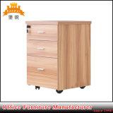 Het houten Kabinet van het Voetstuk van het Metaal van de Kleur Mobiele