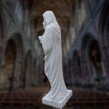 종교적인 동상 조각품, 아기 예수와 가진 St 메리의 대리석 상