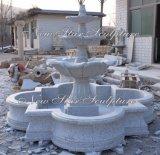 물 특징 정원 훈장을%s 회색 화강암 샘