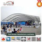 Neuer Entwurf 2017 Arcum grosses Festzelt-Zelt mit transparentem Dach