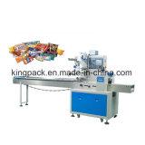 熱い販売の自動水平の枕食糧パッキング機械