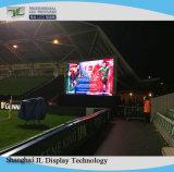 Publicidade em cores de alto brilho do visor LED de exterior