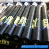 Commerce de gros 6FT*300FT Noir PP tissés la couverture du sol