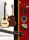 Todos High-End Solid Brasil Pau-guitarra clássica