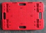 camion de main de épissure en plastique de tortue de chariot à tablette de tortue de la couleur 150kgs rouge