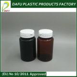 bottiglia di plastica della medicina dell'animale domestico 120ml con la protezione di plastica