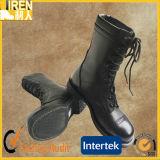 工場直接価格安い本物牛革軍の戦闘用ブーツ